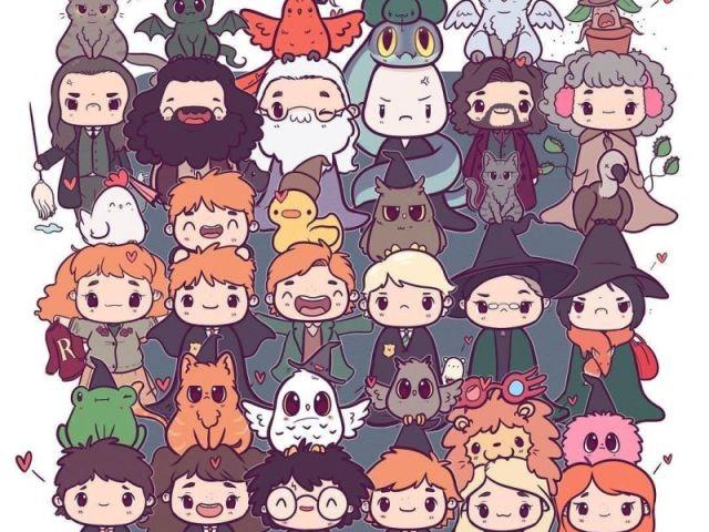 Você conhece os livros e filmes de Harry Potter?