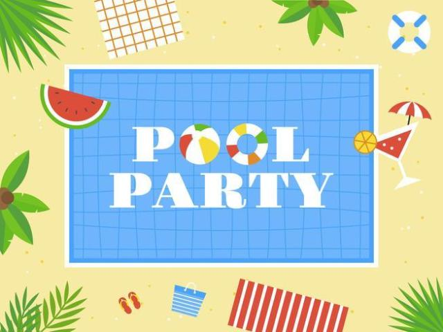 Monte sua Pool Party!