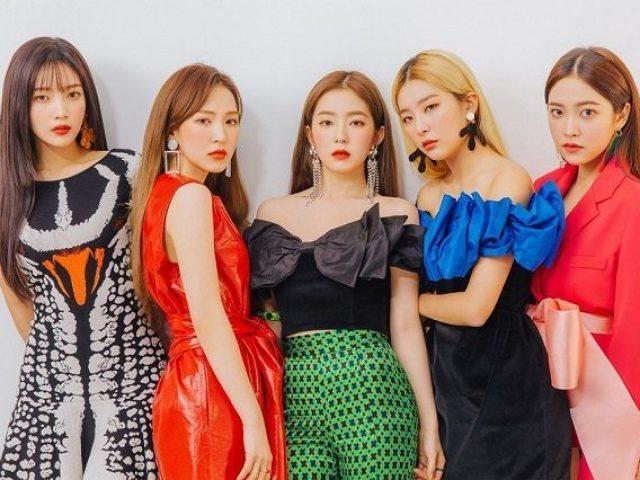 Escolha uma foto e te recomendarei uma música do Red Velvet