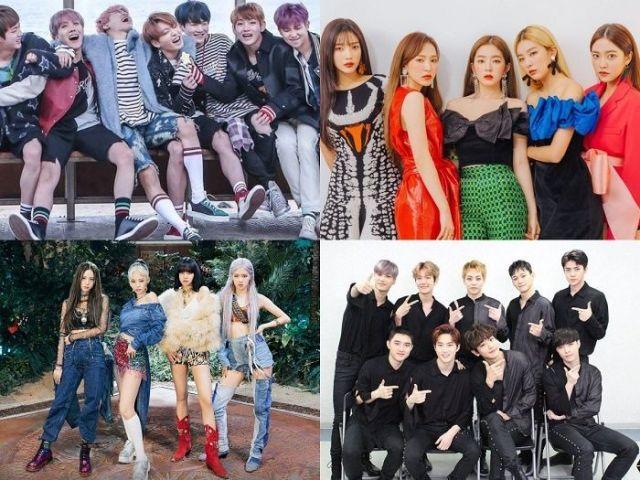 K-pop: Adivinhe esses grupos (Fácil)