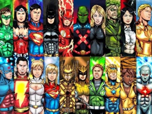 Que Heroi/Vilão da DC Comics é esse