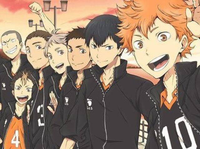 Quem você seria no time da Karasuno