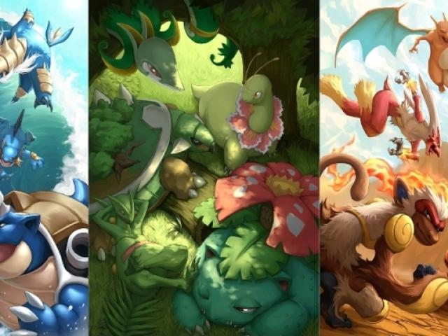 Pokémon: Você é tipo água, fogo ou grama?
