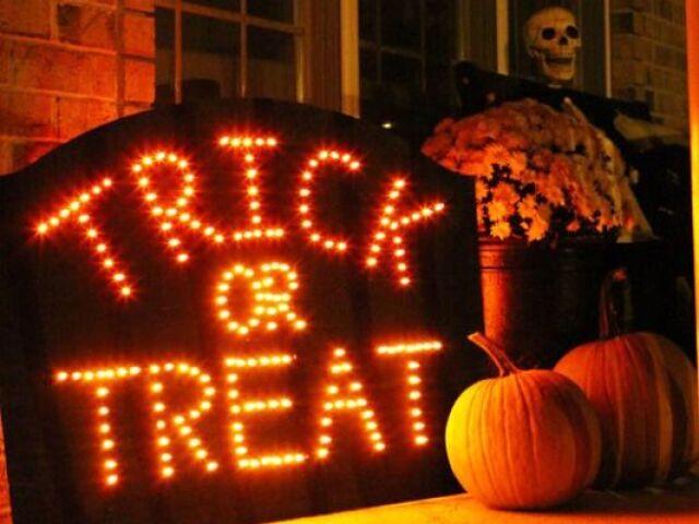 Monte sua festa de Halloween!