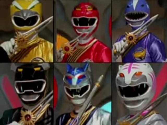 Qual Power Ranger da Força Animal seria o seu melhor amigo (a)?