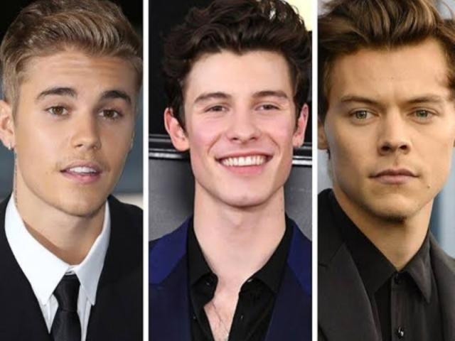 Você é mais Justin, Shawn ou Harry?