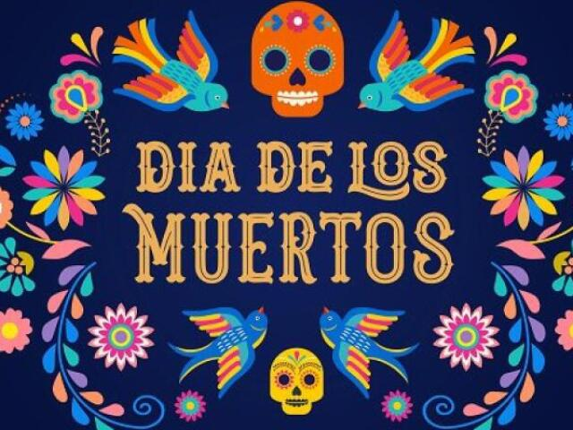 Monte seus dois dias na festa de Los Muertos!!