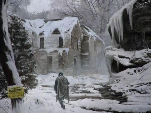 Voce sobreviveria em uma cidade congelada?