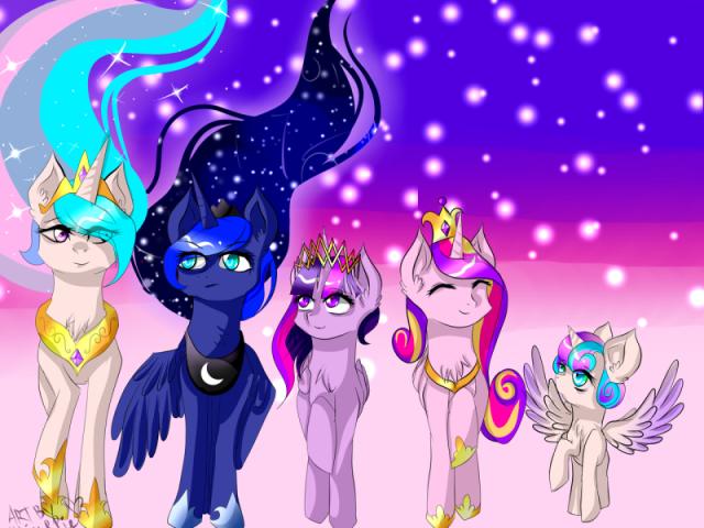 Que princesa de My Little Pony você seria?