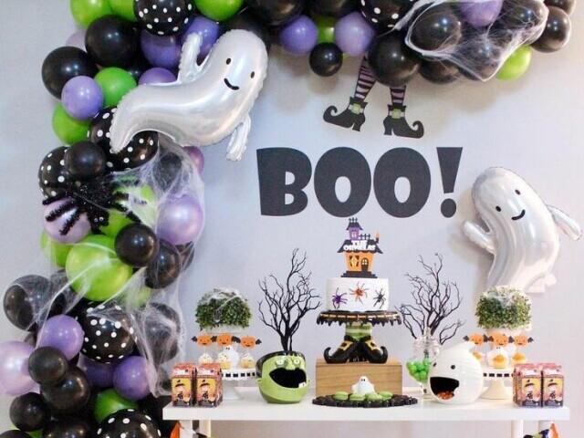Monte sua festa de halloween e descubra qual vai ser o tema !!!