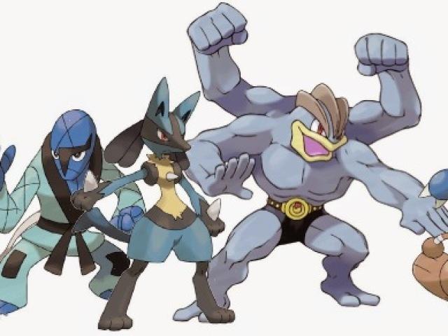 Qual seria seu Pokémon do tipo lutador?