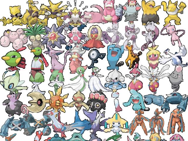 Qual seria seu Pokémon do tipo psíquico?