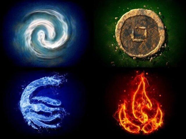 Qual elemento você dobraria em avatar?