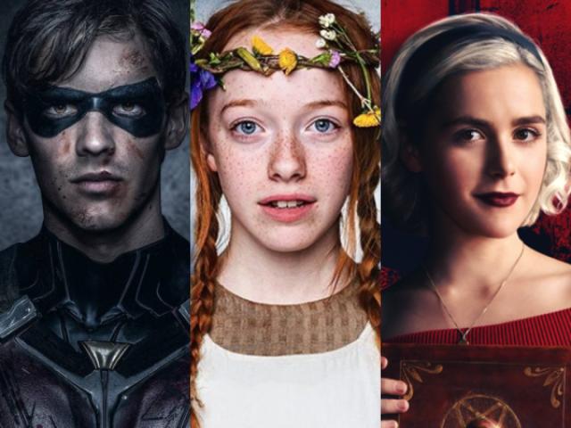 De quais séries são esses personagens?