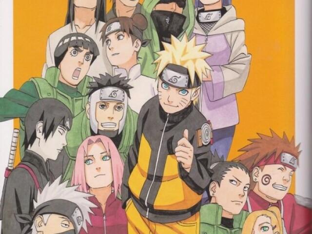Qual time de Naruto você participaria? (clássico)