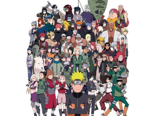 Você conhece os personagens da Akatsuki?