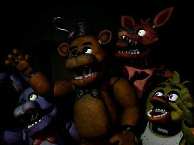 Quem você seria em Five Nights At Freddy's?