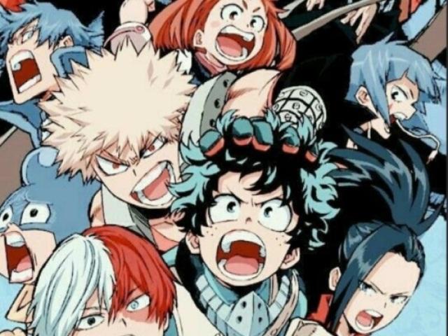 Você realmente conhece o anime Boku no hero(My hero academy)?