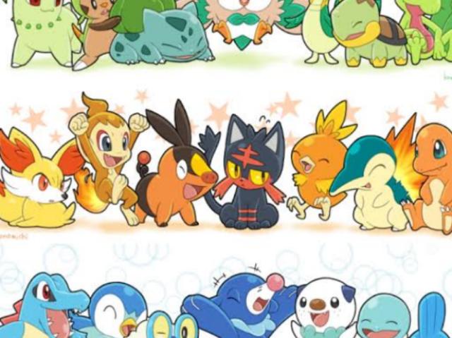 Que inicial de Pokémon você seria?