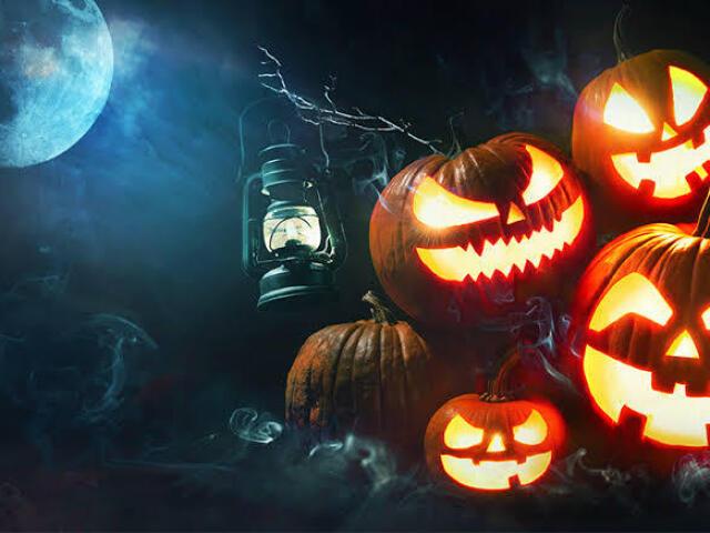 Monte sua festa de Halloween! 🎃