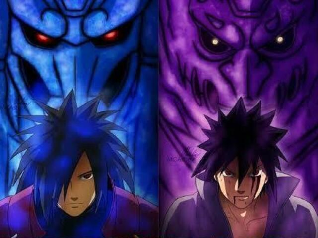 Você é mais Madara ou Sasuke?