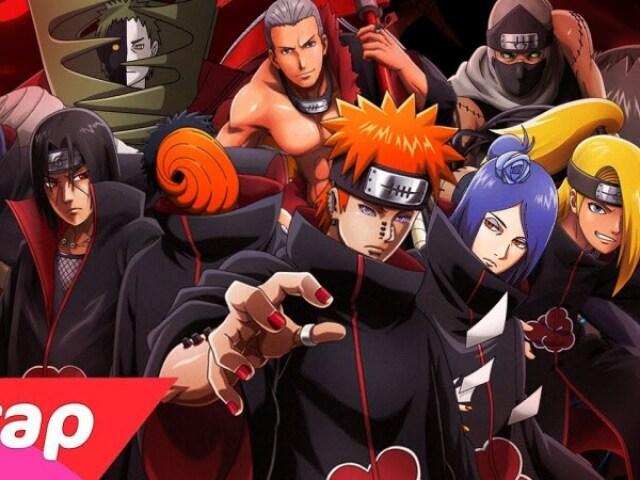 Você conhece personagens da Akatsuki?