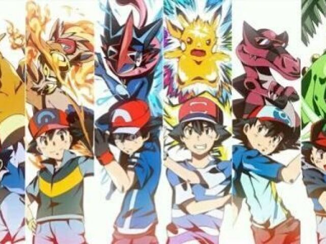 Qual dos MELHORES POKÉMON do Ash você seria ?