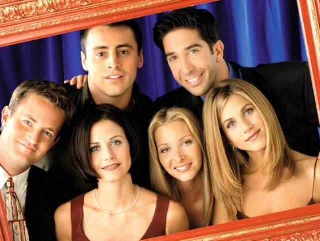 """Com qual dos personagens de """"Friends"""" você mais se parece?"""