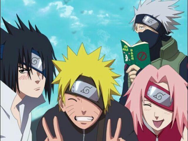 Quem você seria no Time 7 do Naruto?