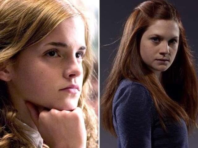 Você é mais Hermione ou Gina?