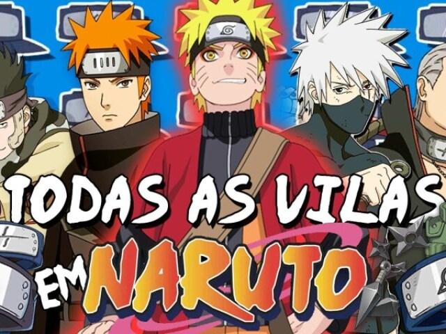 Em qual vila de Naruto você viveria?
