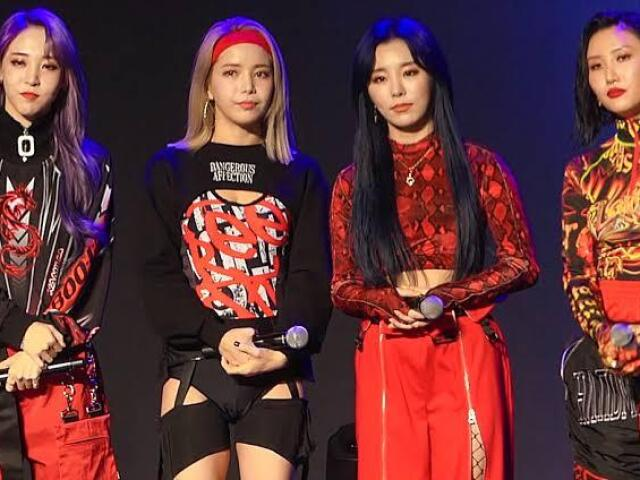 Top 4 girlgroups de kpop!