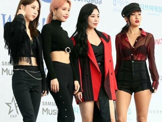 -Monte seu grupo de K-pop -