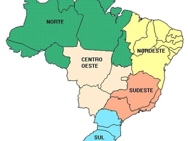 Regiões brasileiras!