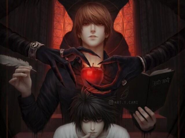 Prova de Death Note!