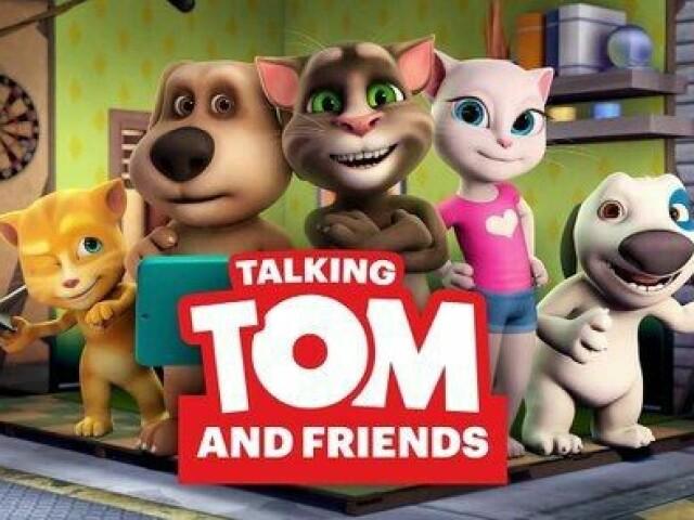 Quem você e em Talking Tom? 💭