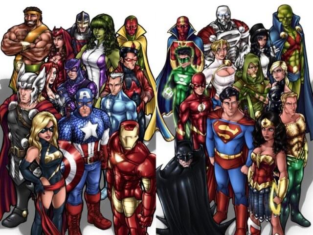 Qual Super Herói Masculino você seria?
