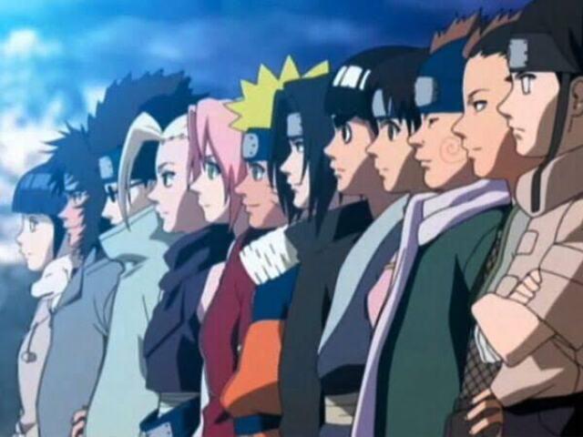Qual ninja você é entre os 11 de Konoha?
