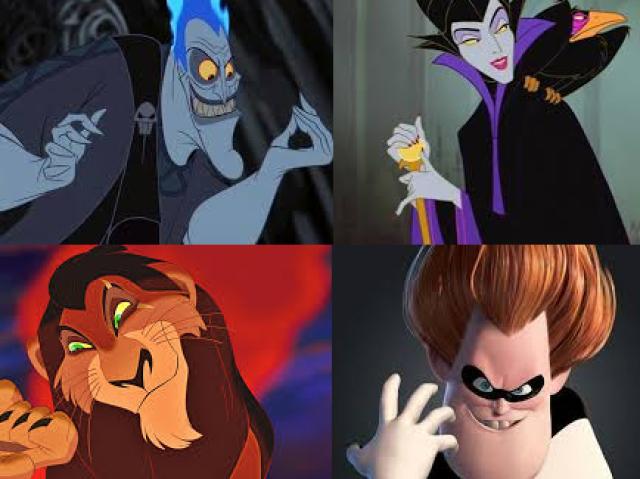Quiz sobre vilões da Disney