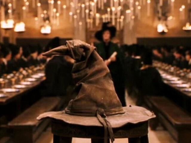 Chapéu Seletor//Descubra sua casa de Hogwarts!