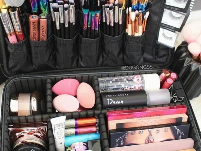 Monte o seu kit de maquiagem