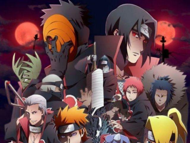 Qual personagem você seria na Akatsuki?
