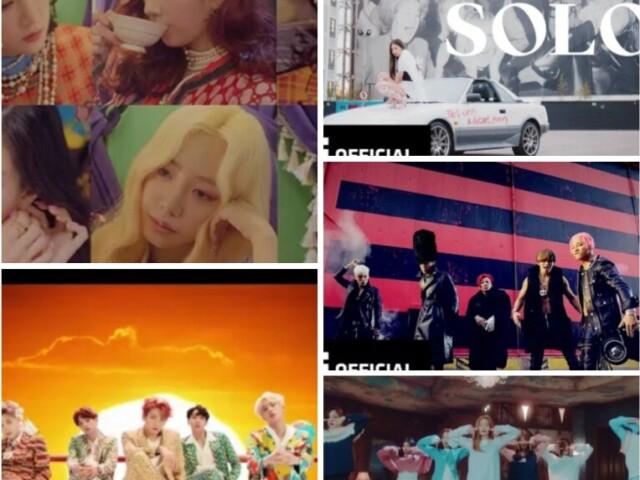 Adivinhe os mvs de kpop pelas imagens!