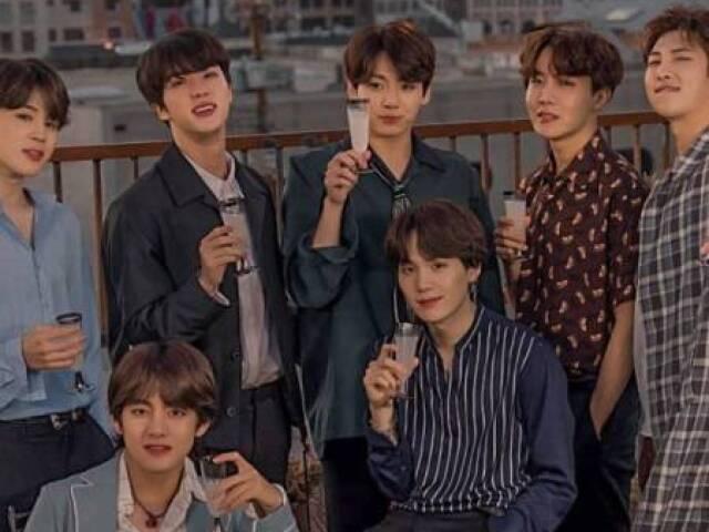 Você realmente conhece o grupo BTS?