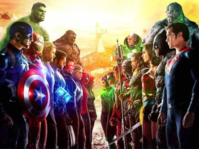 Você é mais DC ou Marvel?
