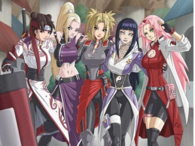 Qual Kunoichi (Garota) você seria em Naruto?