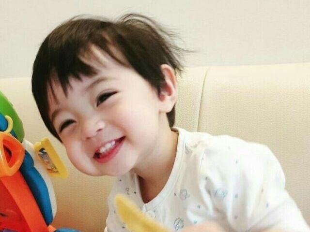 Como seria seu filho coreano?