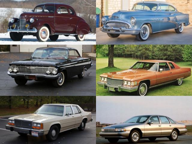De qual década é o carro?