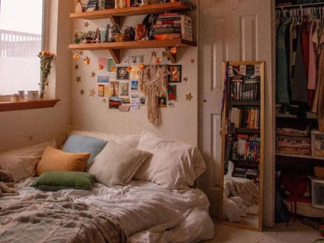 -Monte seu quarto-