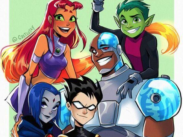 Quem você na série Teen Titans Go!?